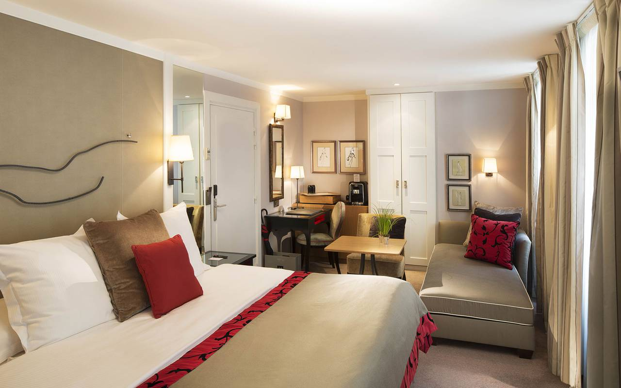 luxury room Paris 6